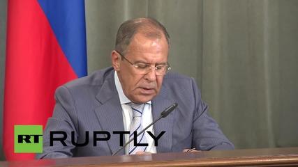 Russia: Lavrov slams 'propaganda-driven' UN Security Council resolutions