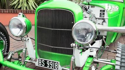 """Дядо превръща стар """" Ford """"от 1929 година в страхотен """" Hot Rod """""""