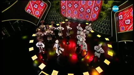Алфредо Торес и Елен Колева - народни танци - И аз го мога (11.03.2015)