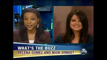 Selena Gomez On Abc News