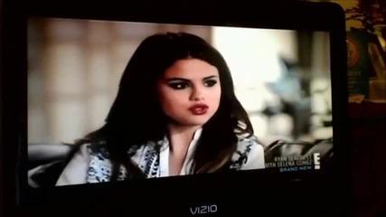 Бг Превод! Selena Gomez E! Special With Ryan Seacrest