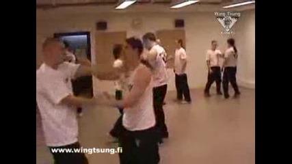 Wing Tsung - Тренировка повече лакти :)