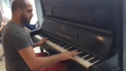 Страхотно изпълнение на пиано!