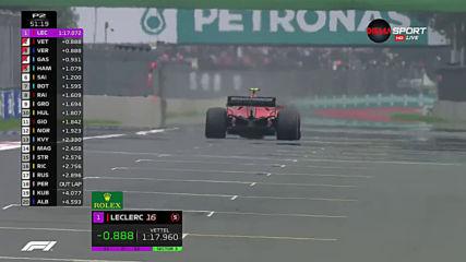 Ферари с първо място във втората тренировка в Мексико