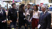 David Bisbal visita el Stand Sabores Almeria Salon Gourmets