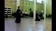 Iaido exam for 3rd kyu