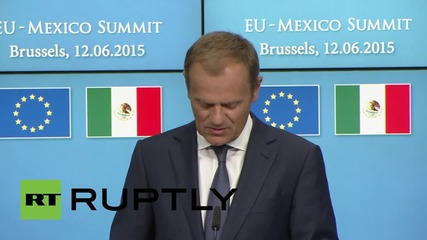 Belgium: Mexico committed to independent sovereignty of Ukraine says Tusk