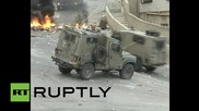 State of Palestine: Protesters defy laws and barrage Israeli forces with stones