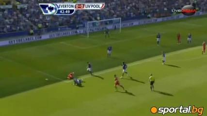 Евертън - Ливърпул 0:2