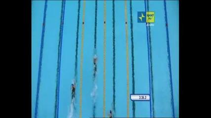 Metri Stile Libero Mondiali Nuoto Roma 2009. Pellegrini Oro