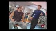 Тренировка с Лазар Ангелов