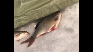 руснаците на риболов Опасная рыбалка