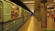 Една от метростанциите в Будапеща - Budapest Metro M3 - Corvin-negyed