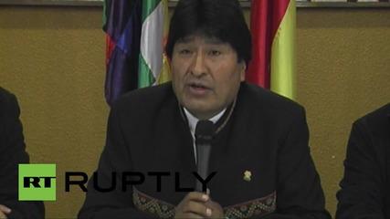 Bolivia: Eduardo Galeano's death mourned by President Morales