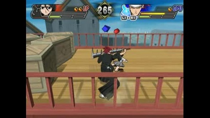 Rukia vs Renji Bleach blade of battlers 2 na ps2 emulator