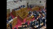 Парламентът на Гърция прие бюджета на страната за 2013, който предвижда сериозни съкращения