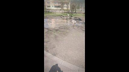 """От """"Моята новина"""": Наводнен парк """"Света Троица"""""""