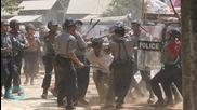 Myanmar Frees Some Student Protesters Arrested in Violent Crackdown