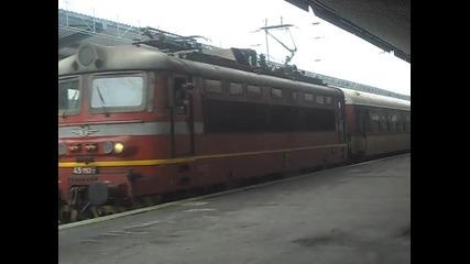 Бв 2613 с 45 192 заминава от Централна гара