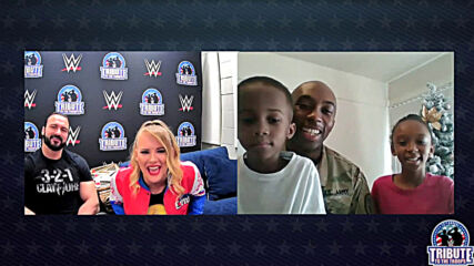 WWE Superstars surprise troops with virtual meet-and-greets