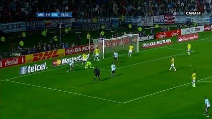 Аржентина – Колумбия 0:0 (5:4 след дузпи)