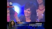 Изпълнението на Нора,с което се опитва да се спаси от отпадане в Music Idol 02.04.2008 *HQ*