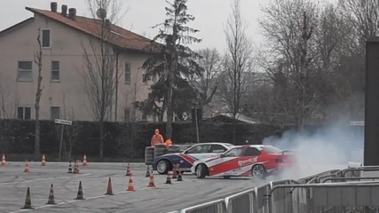 Bmw M3 Drifting battle 2013 - Kamikaze Drift Team