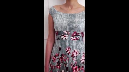 bote - Къса рокля Димана