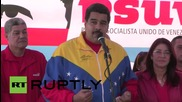 Venezuela: Maduro casts his vote in Socialist Party primaries