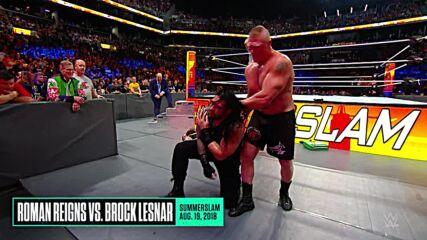 Roman Reigns at SummerSlam: WWE Playlist
