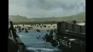 Десанта в Нормандия - цветни кадри