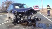 Жена загина след тежка катастрофа край Благоевград