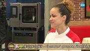"""""""На кафе"""" ни показва какъв е животът на участничката в """"Hell's kitchen"""" - Светлана Илиева"""