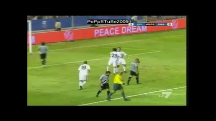 Роналдо пак вкара от дуспа,  че той по друг начин неможе :d при загубата от Юве с 2 - 1