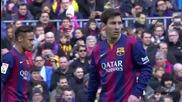 Барса с чудовищна издънка на Камп Ноу! 21.02.2015 Барселона - Малага 0:1