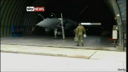 Вижте как френски военни се подготвят за войната в либия