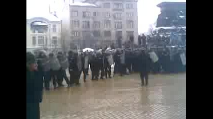 14.01.2009 - Жандармерията Срещу Народа