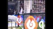 Кристиано Роналдо се бъзика с феновете на Атлетик Б !?