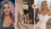 Всяка манекенка би ѝ завидяла: Лидия показа крак за милиони и повиши градусите