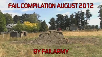 Fail Compilation of the Month August 2012