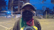Colombia: Plainclothes police in truck open fire on protesters in Cali