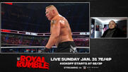 Superstars watch Brock Lesnar's dominant start at Royal Rumble 2020: WWE Playback sneak peek