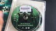 Българското Dvd издание на Матрицата Революции (2003) Съни Филмс 2004