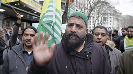UK: Hundreds of protesters decry India's treatment of Kashmir