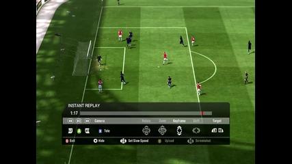 Fifa 11 Страxoтен Гoл на Тио Уолкът