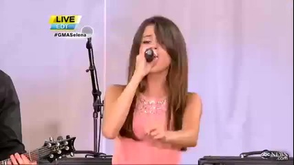 Love you like a love song - Live