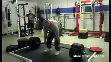 Вдигане на тежести на пълен стомах !