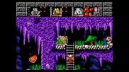 Sega Classics: Lost Vikings - F L 0 T (level 6)