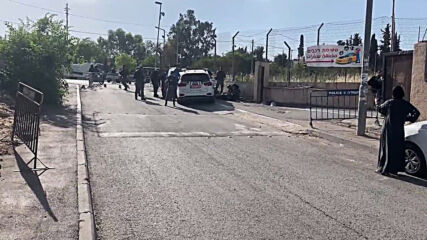 East Jerusalem: Palestinian shot dead after ramming car into Israeli police