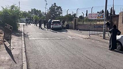 East Jerusalem: Palestinian shot dead after ramming car into Israeli police